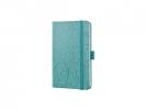 ,notitieboek Sigel Jolie Beauty A6 hardcover gelinieerd      groen