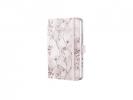 ,notitieboek Sigel Jolie Beauty A6 hardcover gelinieerd rood