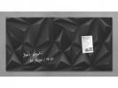 ,glasmagneetbord Sigel Artverum 910x460x15mm Black Diamond