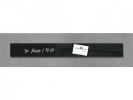 ,<b>glasmagneetbord Sigel Artverum 65x550x15mm zwart</b>