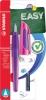 ,Vulpen STABILO Easybuddy rechtshandig paars/magenta blister