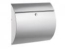 <b>brievenbus Alco zilver met slot 375x330x120mm</b>,