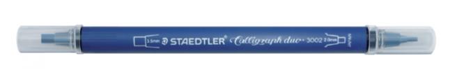 ,<b>Kalligrafiepen Staedtler duo punt 2.0 en 3.5mm ass</b>