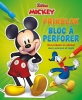 ,Disney Prikblok Mickey Disney Bloc à perforer Mickey
