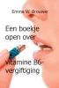 Emma W.  Brouwer ,Een boekje open over vitamine B6-vergiftiging