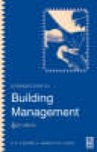 Calvert, R E Introduction to Building Management