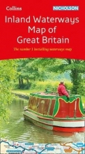 Collins Maps Collins Nicholson Inland Waterways Map of Great Britain