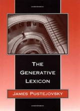 James Pustejovsky The Generative Lexicon
