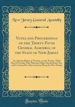 Assembly, New Jersey General Assembly, N: Votes and Proceedings of the Thirty-Fifth Gener