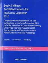 Milman, Professor David Sealy & Milman: Annotated Guide to the Insolvency Legislatio
