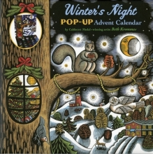Winter`s Night Pop-Up Advent Calendar