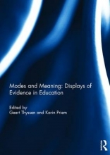 Geert Thyssen,   Karin (University of Luxembourg) Priem Modes and Meaning: Displays of Evidence in Education