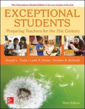 Ronald Taylor,   Lydia Smiley,   Stephen Richards ISE Exceptional Students: Preparing Teachers for the 21st Century