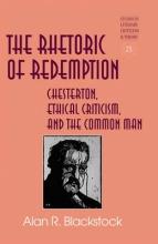 Blackstock, Alan R. The Rhetoric of Redemption