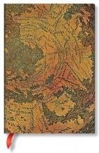 Pb 7270-6 , Paperblanks notitieboek softcover midi lijn hunt-lenox globe