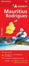 Maurice (Mauritius) - Michelin National Map 740