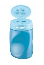 , Puntenslijper STABILO Easy 4502 3 in 1 rechtshandig blauw