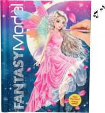 3433 a Fantasymodel tekenboek met licht en geluid