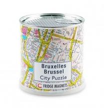 , Brussel city puzzel magnetisch