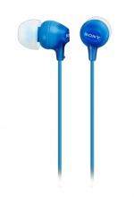 , Oortelefoon Sony EX15LP basic blauw