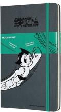 , Moleskine LE Notitieboek Astro Boy Large (13x21 cm) Gelinieerd Donker Grijs