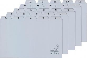 , Alfabet HF2 160x200mm PP grijs