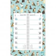 , Omslagkalender week 2022 franciens katten kittens