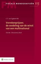 J.T. van Egdom Verrekenprijzen