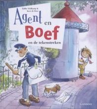 Tjibbe  Veldkamp, Kees de Boer Agent en boef 2 en de tekenstreken