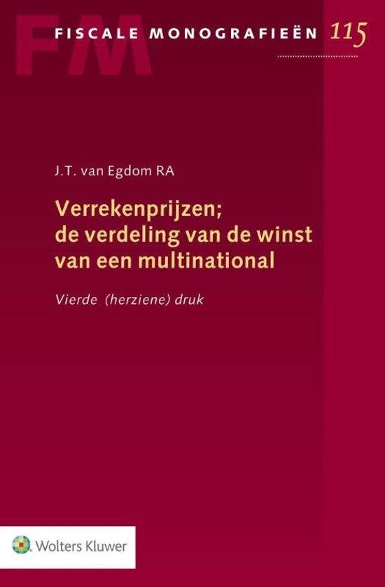 J.T. van Egdom,Verrekenprijzen; de verdeling van de winst van een multinational