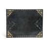 ,<b>Paperblanks gastenboek a5 dwars blanco midnight rebel</b>