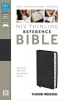Black bonded leather , NIV thinline reference bible indexed