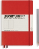 <b>Lt313627</b>,Leuchtturm notitieboek medium 145x210 dots / bullets rood