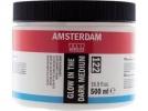,<b>Talens amsterdam acrylmedium glow in the dark 500ml 122</b>