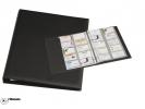 ,<b>Visitekaartenringband Rillstab 18640 A4 kunststof zwart</b>