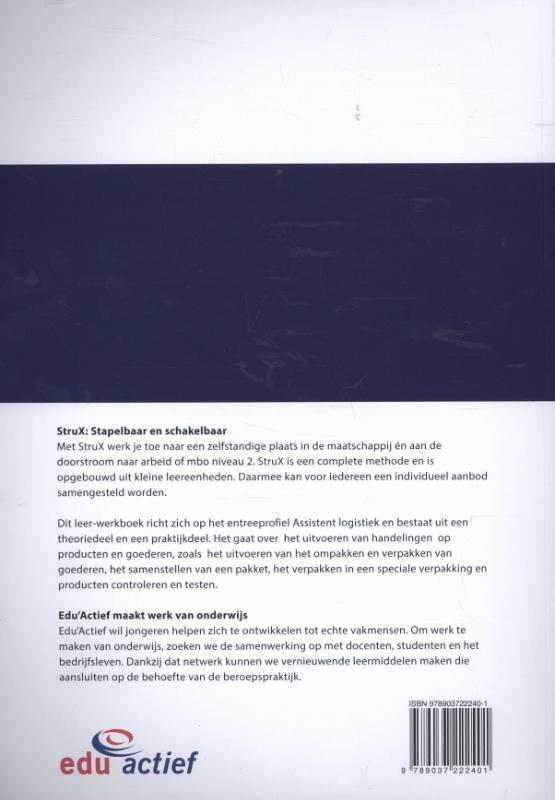 Tessel Mulder,Economie en handel Assistent logistiek. Deel 5 van 6