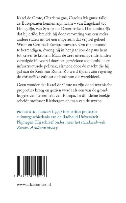 Peter Rietbergen,De kleine Karel de Grote