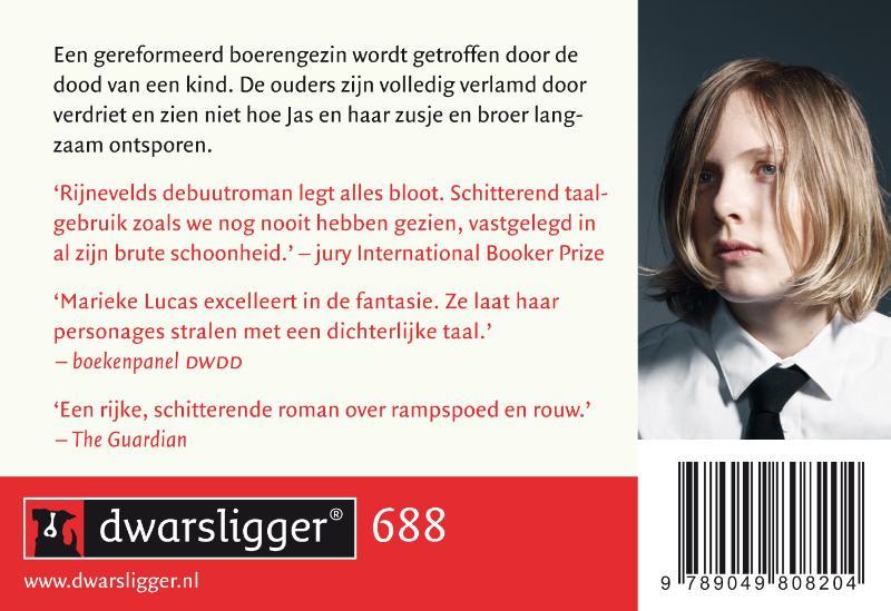 Marieke Lucas Rijneveld,De avond is ongemak