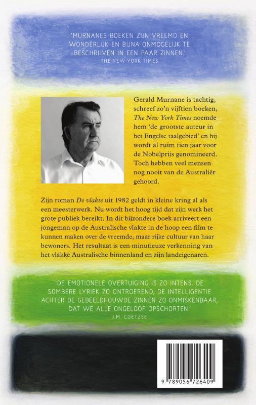 Gerald Murnane,De vlakte