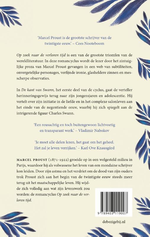 Marcel Proust,De kant van Swann