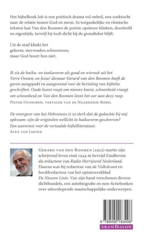 Gerard van den Boomen,Hoe Job overeind bleef