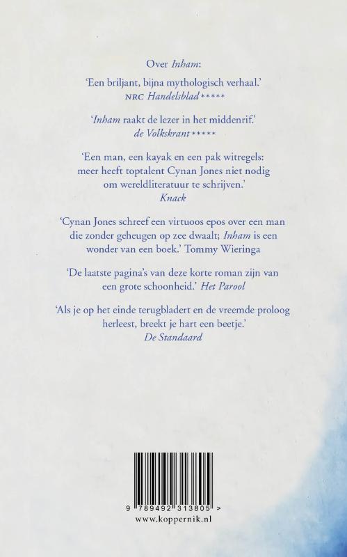 Cynan Jones,De wetten van water
