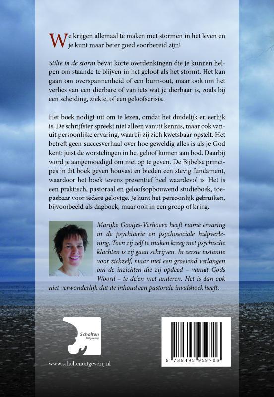 Marijke Gootjes,Stilte in de storm