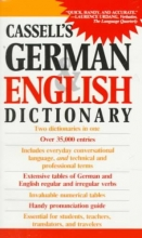 Sasse, H. C. Cassell`s German and English Dictionary