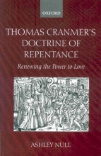 Null, Ashley Thomas Cranmer`s Doctrine of Repentance