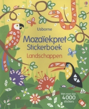 MOZAIKPRET STICKERBOEK - LANDSCHAPPEN