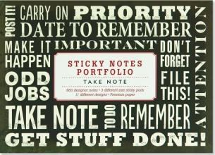 Take Note Sticky Notes Portfolio