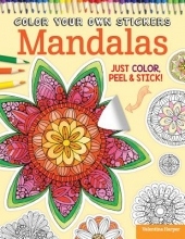 Valentina Harper,   Peg Couch Color Your Own Stickers Mandalas