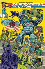 Scioli, Tom,   Barber, John Transformers vs. G.I. Joe 1