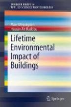Méquignon, Marc Lifetime Environmental Impact of Buildings